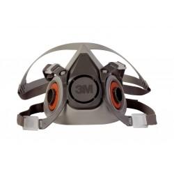 3M 6300 Yarım Yüz Maskesi Büyük Boy